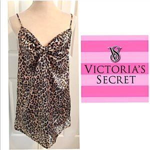 NWOT Victoria's Secret Leopard Camisole Teddy